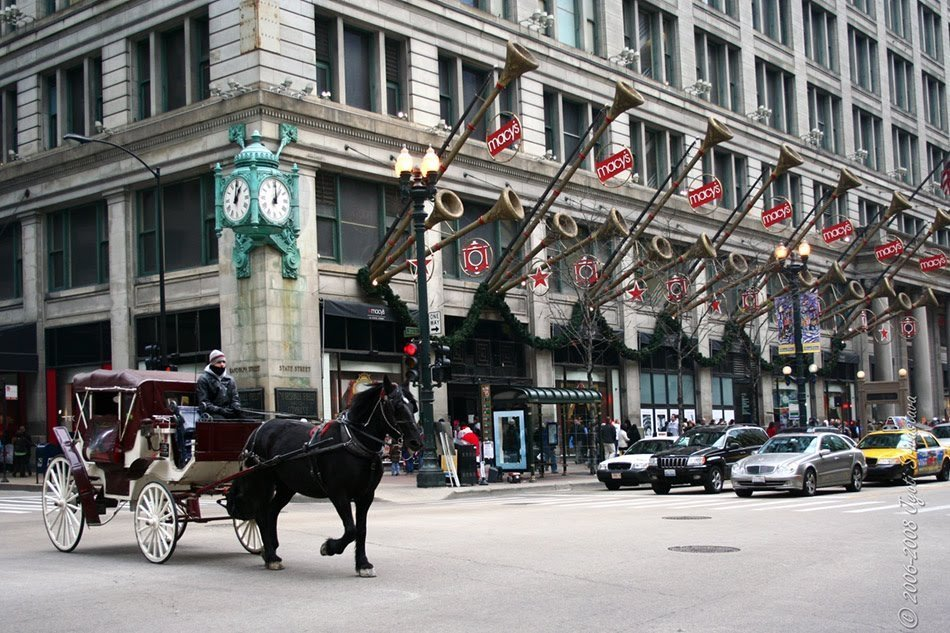 marshall fields building chicago