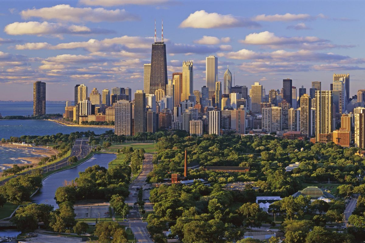chicago vs new york skyline