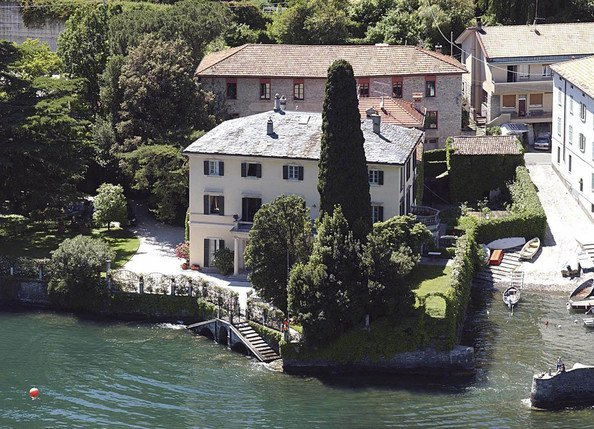 george clooneys house in italy