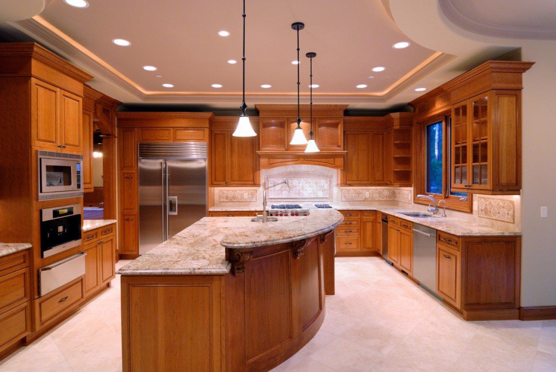 how to brighten a dark kitchen