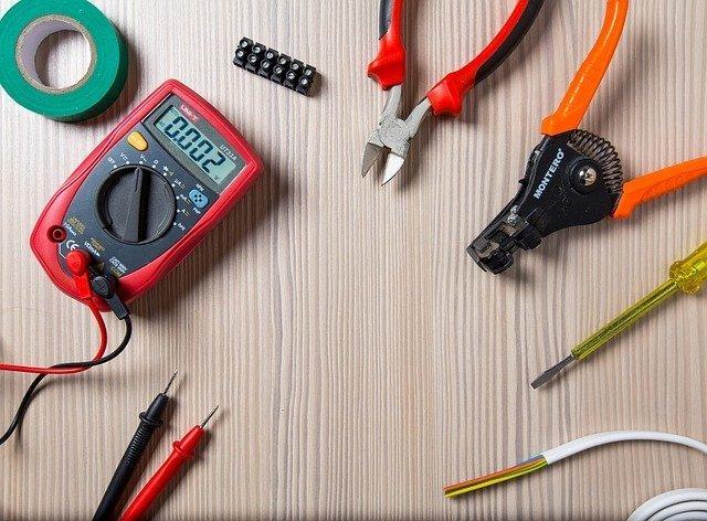 Tool, Work, Repair, Electrician, Tester, Duct Tape