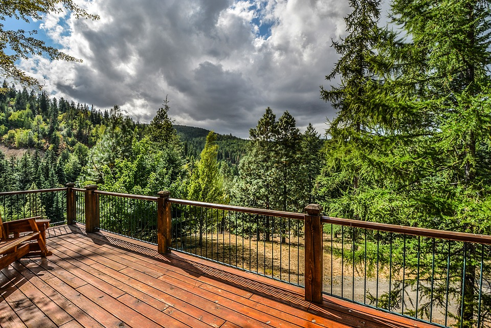 custom deck railing ideas